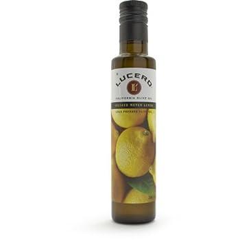 Lucero Crushed Meyer Lemon Certified Extra Virgin Olive Oil, 8.5 oz.