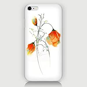 WQQ Rose Pattern Back Case for iPhone 6