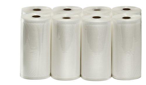 VacMaster Eight 8'' X 50' Rolls of Vacuum Sealer Bags for Foodsaver