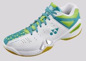 Yonex Women's SHB01-LX Badminton Shoe-Lime Green (7)
