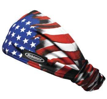 - Schampa American Flag Mini Doo-Z Headwear for Half Helmets, Snow Helmets, Beanie Style Helmets or to Be Worn Alone DZ02-24
