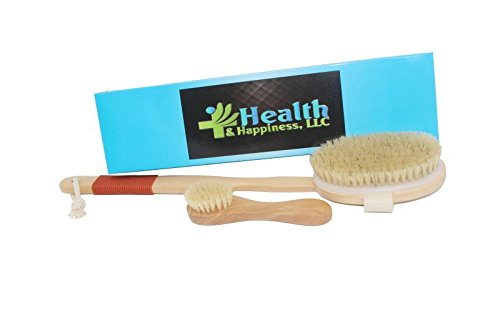Dry/Wet Body and Face Brush Health & Happiness LLC