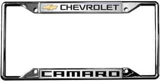 Chevrolet Bowtie with Chevrolet Word Carbon Steel License Plate Current Compatible with 2019 Eurosport Daytona