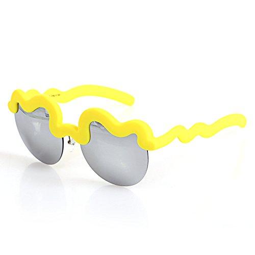 Gafas de Limón mujer Godea sol para Amarillo Ba6x6dqw