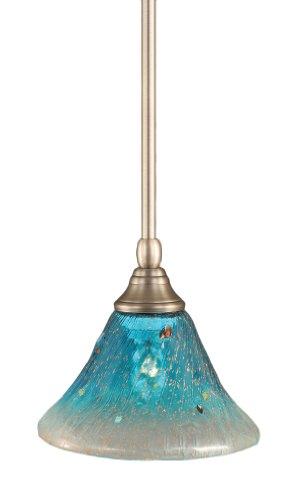 Teal Blue Pendant Light - 6