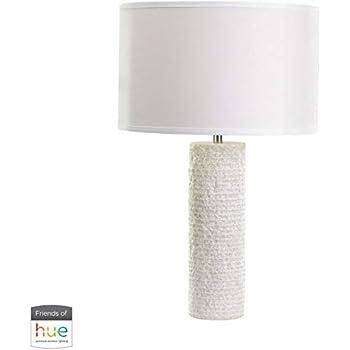 Amazon.com: Lámpara de mesa con 1 luz con acabado de mármol ...