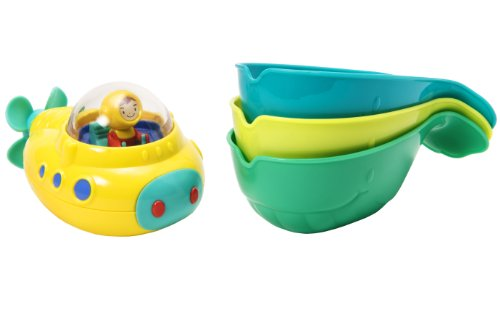 xplorer Sub and Pour and Strain Whales Bath Toy ()