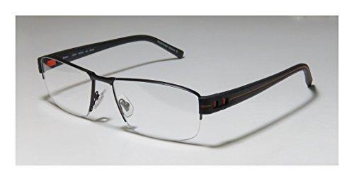 a3ea4bcc0973 Oga 7926o Mens Designer Half-rim Spring Hinges Eyeglasses Eye Glasses (58-