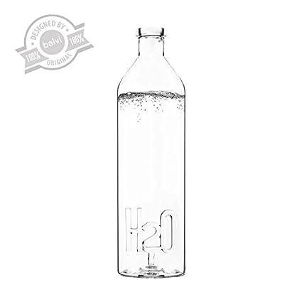 Balvi - Botella H2O 1.2 L borosilicato
