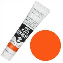 アクリルガッシュ11ml パーマネントオレンジ