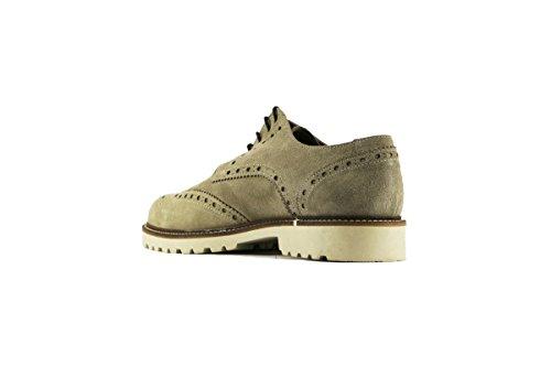 RUE 51 zapatos elegantes hombre gamuza Beige