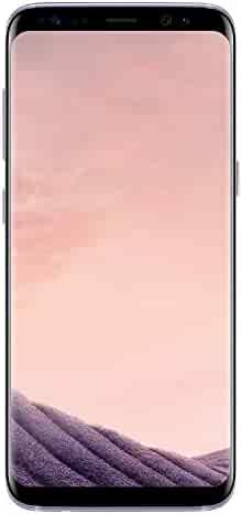 Samsung Galaxy S8 Orchid Gray 64GB Verizon and GSM Factory Unlocked 4G LTE (Renewed)