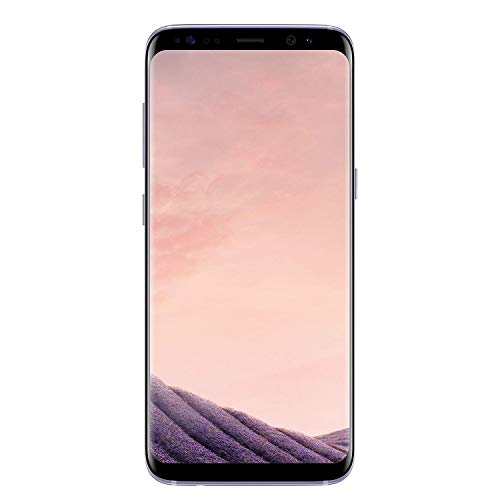 Galaxy S8 Orchid Gray 64GB Verizon and GSM Factory Unlocked 4G LTE (Renewed)