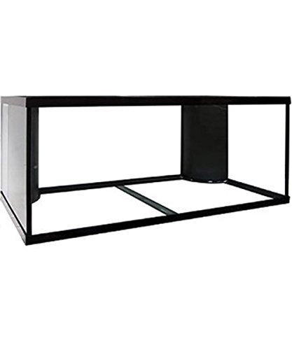 120 Gallon Extra High Dual Reef Ready Framed Aquarium with Plumbing Kits, by Aquarium Masters, For Marine Fish, Invertebrates and Tropical Fish! AM18121 by Aquarium Masters