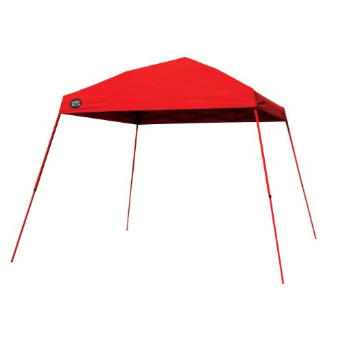 Shade Tech 64 Instant Canopy (Red), 10 Feet X 10 Feet, Outdoor Stuffs
