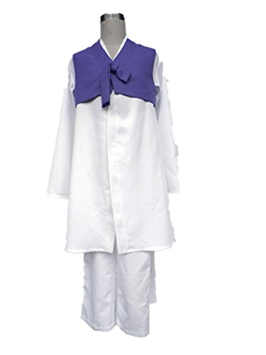 Love Axis Powers APH Cos Cosplay Costume-Im Yongsoo 3Pcs Set (Hanbok Men)