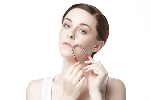 LILY Signature Facial Hair Remover Tool (Face Hair Removing Spring) Threading Epilator Epistick Beauty Stick (BRONZE)