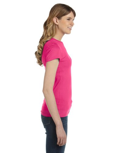 Anvil - T-shirt mode - Femme (L) (Rose)