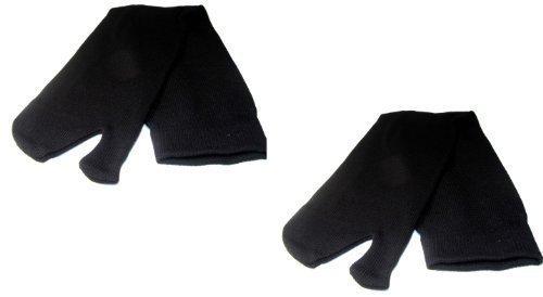 Japonés Yukata/De Kimono Sujeto Calcetines Negros - 1 PAR (RU 7-11
