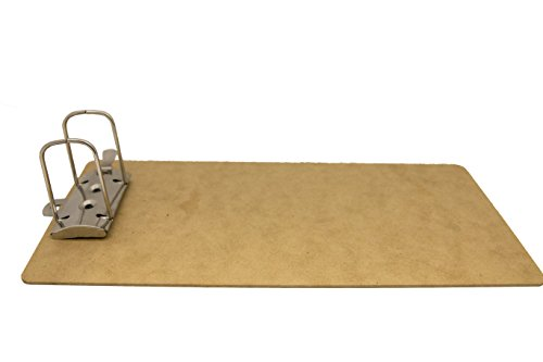 Saunders 05713 Recycled Hardboard Archboard - Brown, Legal Size Document Holder for 2 Hole Punched Documents, Locking Arch ()