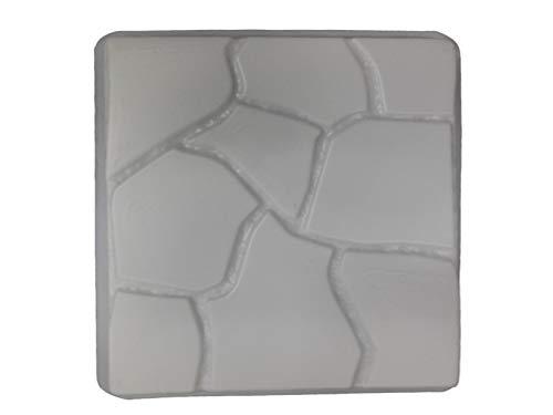 Flagstone Degisn 18in Sq Stepping Stone Concrete Mold 2029 For Sale