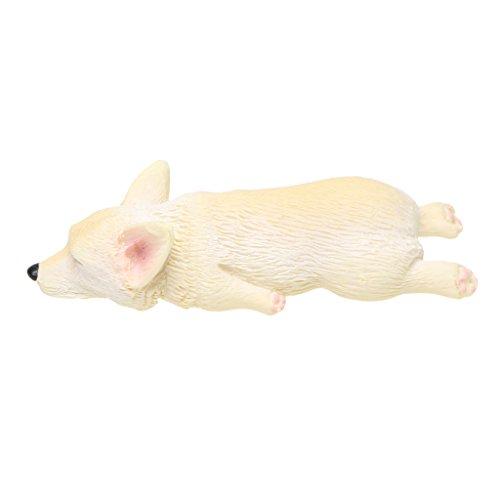 Flameer 10 Kinds Miniature Corgi Dog Terrariums Fairies Moss Garden Ornament DIY Figurine Plant Craft Cute Dogs Home Decor – #5, as described For Sale