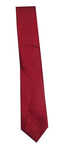 Perry Ellis Red Dhalia Oxford Dots Silk Tie (One size, Red) Perry Ellis Silk Shirt