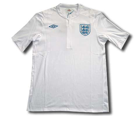 England home shirt 2010-12