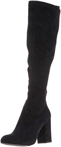 SPM Highboot Mujer Botas Negro para Camperas 01001 Unlined Bendle Black pprnH1P