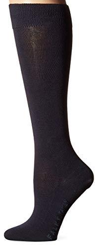 Falke Women's Family Cotton Knee High Socks, Dark Navy, 39-42