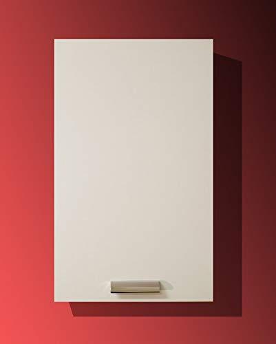 Mabel srl Pensile da 40 cm 1 Anta + scolapiatti Colore Bianco o Olmo, compra dal Produttore! (Bianco)