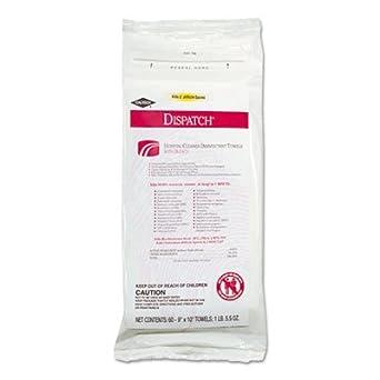 Clo 69260 desinfectante limpiador de Hospital Caltech toallas con lejía, Paquete suave, 60/paquete, caso de 12: Amazon.es: Amazon.es