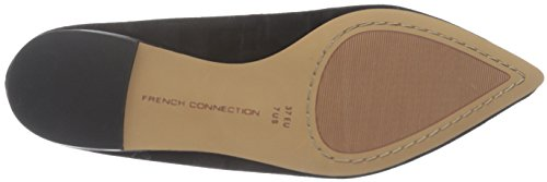 French Pointed Connection Black Womens Flat Gesine Toe French Gesine Flat Womens Toe Connection Pointed qgnwUOWETw