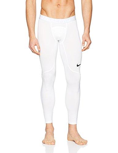 Nike Men's Pro Tights (White, M) by Nike (Image #3)