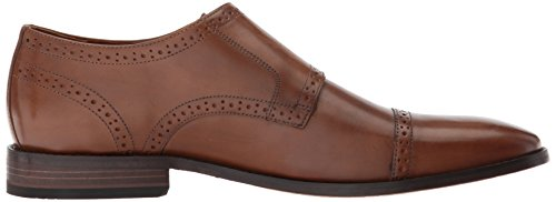 Bostonian Mens Nantasket Monk-strap Mocassino In Pelle Marrone Scuro