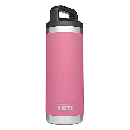 - YETI Rambler 18 oz Vacuum Insulated Stainless Steel Bottle with Cap, Harbor Pink