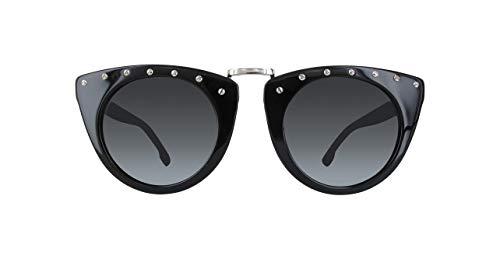 Diesel Plastic Frame Smoke Lens Ladies Sunglasses ()