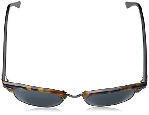 Ray-Ban RB3016 Klassische Clubmaster Sonnenbrille Geflecktes blaues Havana