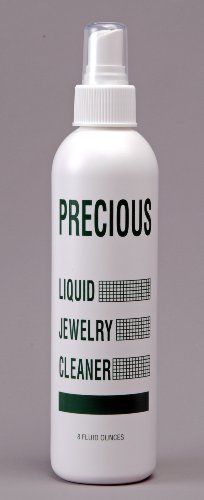 PRECIOUS LIQUID JEWELRY CLEANER - 80Z. (MADE IN THE U.S.A.)