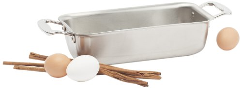 360 Cookware Stainless Steel Bakeware Loaf Pan by 360 Bakeware