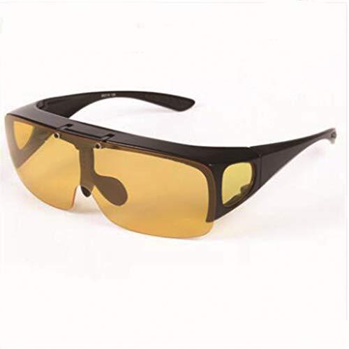 D LYLLB Gafas de Sol Gafas deslumbramiento convertir de de glasse en Libre Espejo de Viajes al Que visión conducen Pesca sun Nocturna Ocio se de polarizado Puede Aire para Trabajos rxCIrq