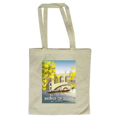 of 380mm Cambridge 420mm illustrator Sighs with Bag Tote By of design Shopper Bridge Art247 Dave Thompson x xwH6q