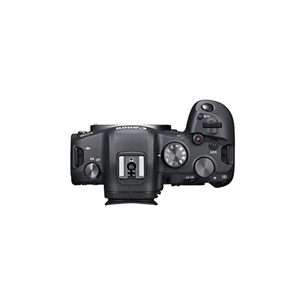 RetinaPix Canon EOS R6 Full-Frame Mirrorless Camera with 4K Video, Full-Frame CMOS Senor, DIGIC X Image Processor, Dual UHS-II SD Memory Card Slots, and Up to 12 fps with Mechnical Shutter, Body Only, Black