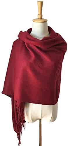 7e92caf7f613b DWJ European and American Autumn and Winter Star Imitation Cashmere Solid  Color Scarf, Men's and
