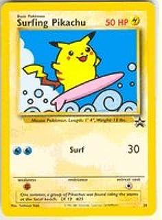 Amazon pokemon card black star promo 24 s pikachu pokemon surfing pikachu 28 promo pokemon promos bookmarktalkfo Gallery