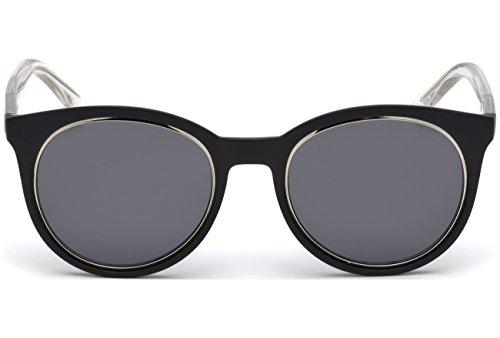 Noir GU7466 Sonnenbrille Transparent Blanc Mat Guess SwqZYxAw