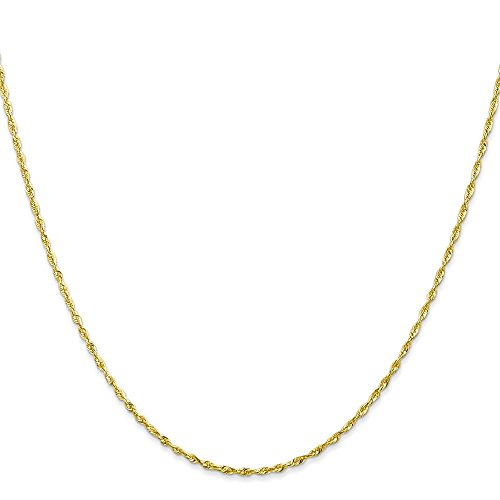 10k-yellow-gold-9in-130mm-diamond-cut-lightweight-rope-chain-bracelet