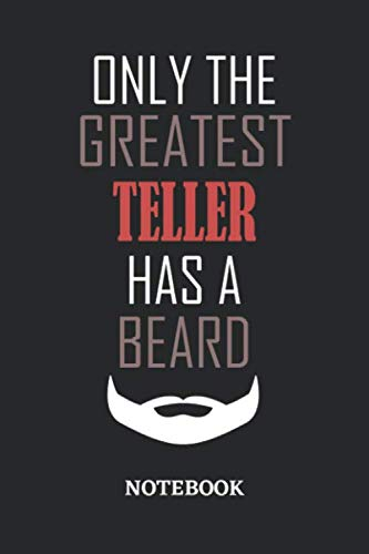 2 Men Halloween Costume Ideas (Only The Greatest Teller Has A Beard Notebook: 6x9 inches - 110 dotgrid pages • Greatest Passionate Office Job Journal Utility • Gift, Present)