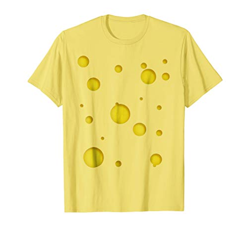 Swiss Cheese Costume Shirt - Halloween Costume -