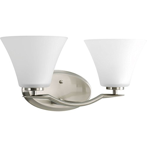 (Progress Lighting P2005-09WB Bravo 2-Light Bath with)